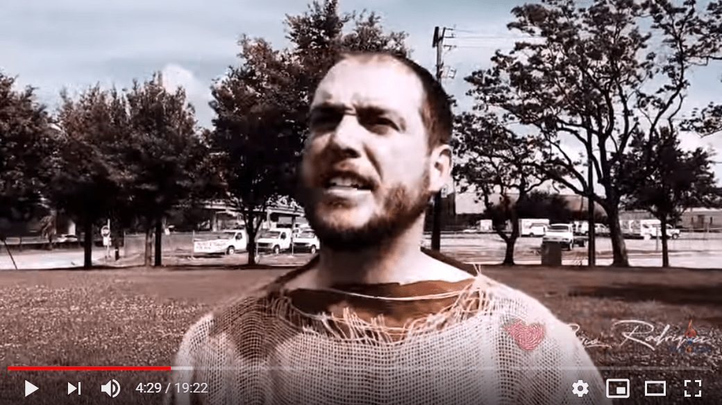 Povestea bărbatului îmbrăcat în sac care 10 zile a predicat în 10 orașe mari ale USA: Nicolae Geantă – Cuvântul venit de sus